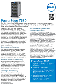 Dell PowerEdge T630 Tower Server