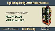 High Quality Healthy Snacks Vending Machines