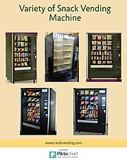Variety of Snack Vending Machine