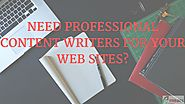 Hire a Professional Content Writer to Make your Website's Online Presence