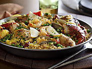 The Ultimate Paella : Tyler Florence : Food Network
