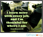 Three Secrets to be Truly Happy in a Job | Thankful Thursday | The New Girlfriendology | Be a Better Friend | Inspira...