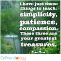 What are your Three? / Thankful Thursday Treasures (in Three's) | The New Girlfriendology | Be a Better Friend | Insp...