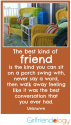Thankful Thursday: Grateful for Girlfriends & Front Porches | The New Girlfriendology | Be a Better Friend | Inspirat...