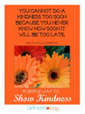 A Simple Way to show Kindness | Thankful Thursday | The New Girlfriendology | Be a Better Friend | Inspiration, Girlf...