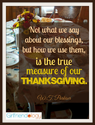 Celebrating Thanksgiving in Two Words - Great Girlfriend Advice | The New Girlfriendology | Be a Better Friend | Insp...