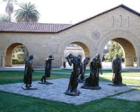 Rodin Sculpture Garden at Stanford