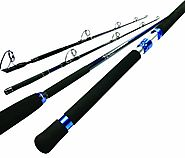 Okuma NOMAD Travel Spinning Rod (30 -60 Lbs, 7-Feet, Medium-Heavy)