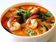 Tom Yam Goong (Spicy Shrimp Soup)