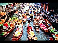 Bustling Allure of Bangkok Floating Markets