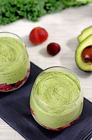 Avocado, Kale, and Cashew Parfait