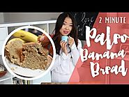 2 Minute Paleo Banana Bread