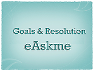 Blogging Goals of eAskme