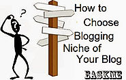 How to Choose Blogging Niche of Your Blog