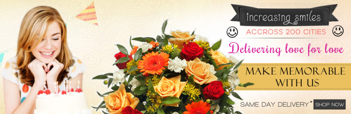 Headline for Flowers Delivery in Delhi | www.flowershop18.in