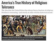 Smithsonian: Religious Tolerance in the USA