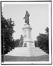 Library of Congress: Image - Roger Williams statue, Roger Williams Park, Providence, R.I.