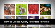 How to Create Stunning jQuery Filterable Portfolio