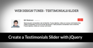 How to Create a Testimonials Slider with jQuery - Tutorials