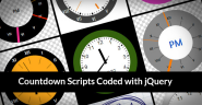 20 Top Premium Countdown Scripts Coded with jQuery