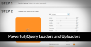 14 Powerful AJAX, jQuery Loaders and Uploaders
