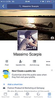 Facebook Testing New Profile Layout for Mobile Users