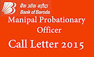 Bank of Baroda 2015 Admit Card - BOB BMSB PO Hall Ticket - Govt jobs Exam Results 2015 Admit Cards And Notifications ...