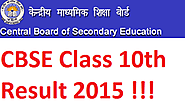 CBSE 2015 10th Result, CBSE Class X 2015 Result, cbseresults.nic.in - Govt jobs Exam Results 2015 Admit Cards And Not...