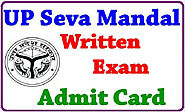 UP Seva Mandal 2015 Admit Card - UP Seva Mandal AM Hall ticket Download - Govt jobs Exam Results 2015 Admit Cards And...