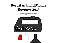 Best Handheld Mixers Reviews 2015
