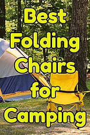 Folding Camping Chairs with Footrest - Great Gift Ideas