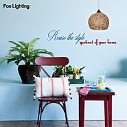 Buy Designer Hanging Pendant Lights at Best Price – Fos Lighting