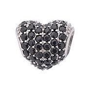 Crystal Charms Black