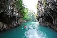 Krabi Kayaking and snorkeling at Koh Hong Island