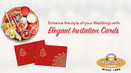 Flaunt your Style with Ethnic and Classic Collection of Hindu Wedding Invitations