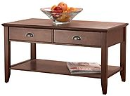 Best Rated Solid Wood Coffee Table With Storage on Flipboard