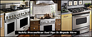 Safety Precautions And Tips To Repair Stove