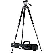 Miller DS-10 DV Fluid Head with Solo Aluminum Tripod 1640 B&H