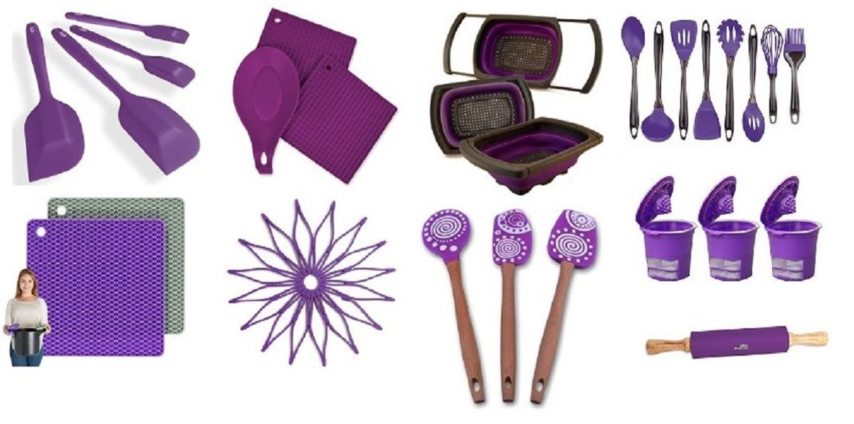 Awesome Purple Kitchen Accessories, Gadgets, Ut...