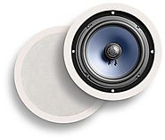 Polk Audio RC80i 2-Way In-Ceiling Speakers (Pair, White)