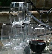 Govino Shatterproof Stemless Wine Glasses - 8 Pack
