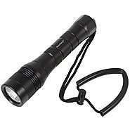 SecurityIng Waterproof 1000 Lumens XM-L2 LED Diving Flashlight UnderWater 150m Depth Bright LED Lighting Lamp Dive Li...