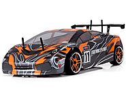Redcat Racing Lightning EPX Electric Drift Car, Orange/Black, 1/10 Scale