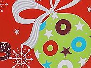 Christmas Ornaments 24 inch x417 ft.Gift Wrap Counter Roll (1 unit, 1 pack per unit.)