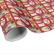 More Red Christmas Wrapping Paper