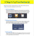 5 Thins to Try When your iPad Acts Up ~ Educational Technology and Mobile Learning