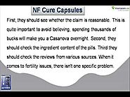 Does NF Cure Capsule Work Or Is It Only Hype?