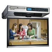 Under cabinet tv kitchen options, tv-dvd combo or tv-radio combo fro 2015