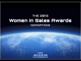 Women In Sales Awards 2013