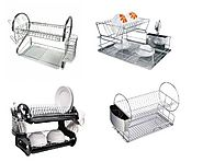 2 Tier Dish Rack with Tray - Best Brands
